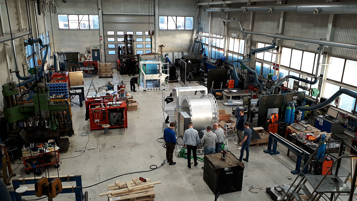 Large Scale Manufacturing and Testing Facility at Henriiksen