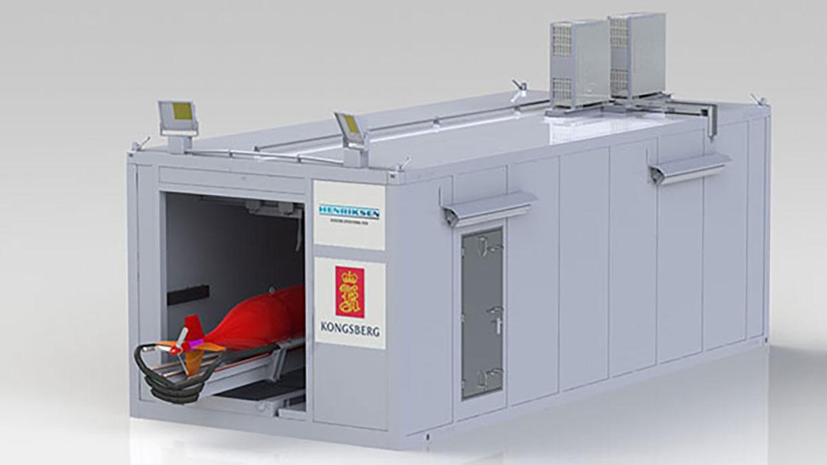 LARS System for Hugin AUV